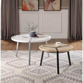 Wrought Studio Wessels 2 Piece Coffee Table Set