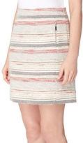 Tahari Arthur S. Levine Petite Novelty Tweed A-Line Skirt