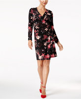 Thalia Sodi Printed Wrap Dress, Created for Macy's