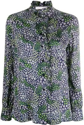 See by Chloe Floral Print Ruffled Shirt