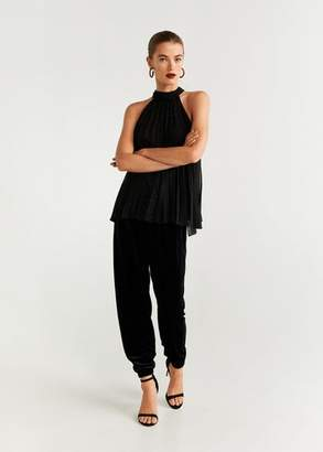 MANGO Halter neck top black - 2 - Women