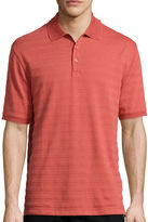Haggar Short Sleeve Printed Woven Polo