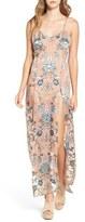 For Love & Lemons Women's 'Saffron' Floral Print Maxi Dress
