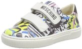 Moschino Girls' 25826.0 Low-Top Sneakers White Size: 10 Child UK