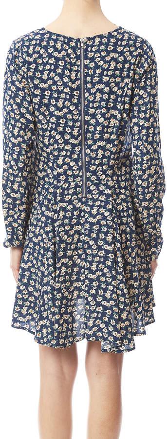 Umgee USA Blue Floral Dress