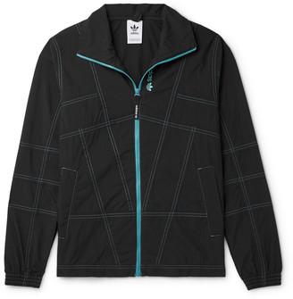 adidas Adventure Cotton-Blend Track Jacket - Men - Black
