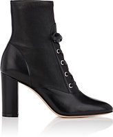 Gianvito Rossi Women's Leather Lace-Up Ankle Boots