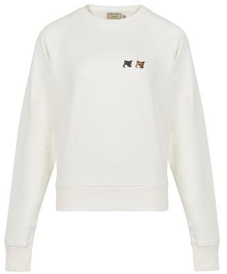 MAISON KITSUNÉ Double Fox sweatshirt
