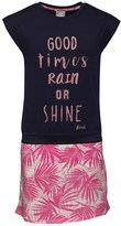 Bench Girls Graphic Dress Pink