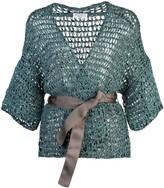 Brunello Cucinelli belted cardigan