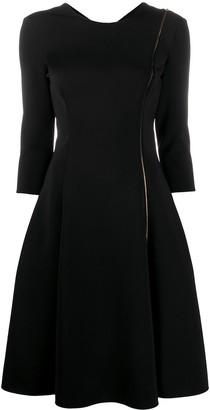 Versace Zip Accent short dress