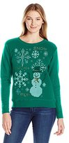 Hanes Women's Ugly Christmas Sweatshirt