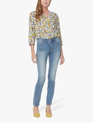 NYDJ Alina Skinny Ankle Jeans, Clayburn