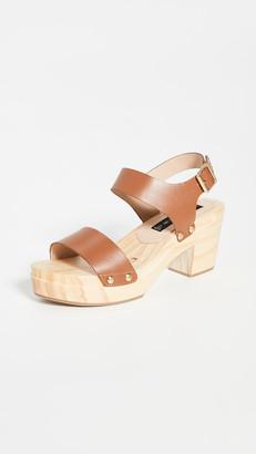 Steven Fabee Clog Sandals