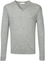 Cerruti long-sleeve fitted sweater