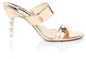 Sophia Webster Women's Rosalind Mirror Leather Sandals
