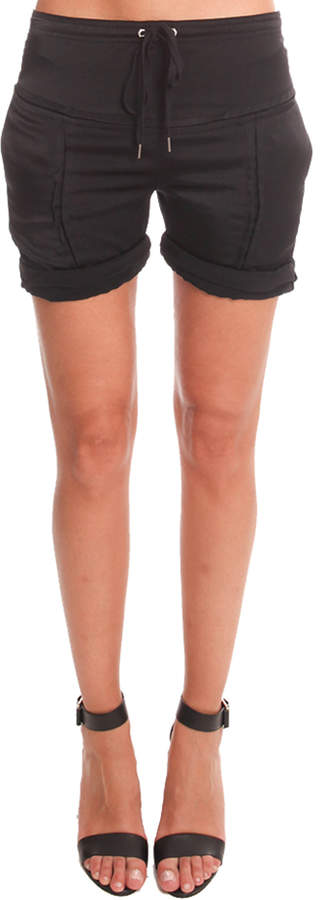 Alexander Wang Silk Shorts with Slot Seam