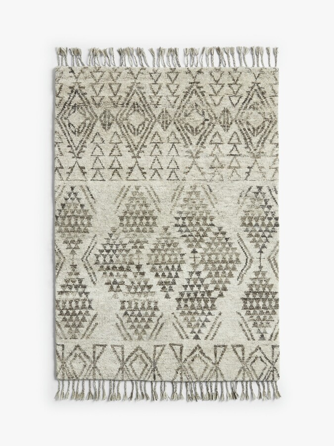 Thumbnail for your product : John Lewis & Partners Hand Knotted Fez Berber Style Rug, L120 x W180 cm