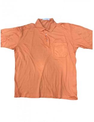 Givenchy Orange Cotton Polo shirts