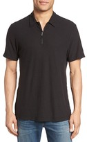 James Perse Zip Placket Polo