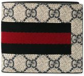 Gucci Web GG Supreme billfold wallet - men - Leather - One Size