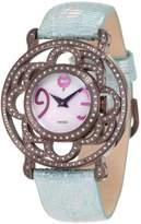 Brillier Women's 04-71727-11 Papillon Swiss-Quartz Watch