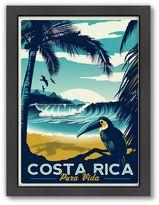 "Americanflat ""Costa Rica Pura Vida"" Digital Print Wall Art"