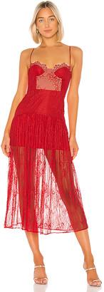 NBD Desert Rose Midi Dress