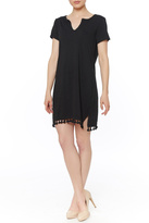 Michael Stars Notched Neck Dress
