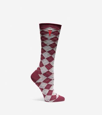 Cole Haan Pinch Argyle Crew Socks