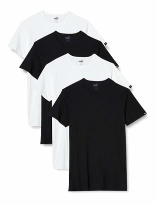 Puma Men's Basic Crew Neck T-Shirt Multipack Base Layer top