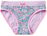 Copper Key Big Girls 7-16 Seamless Floral Hipster Panty