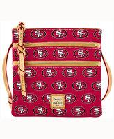 Dooney & Bourke San Francisco 49ers Triple-Zip Crossbody Bag