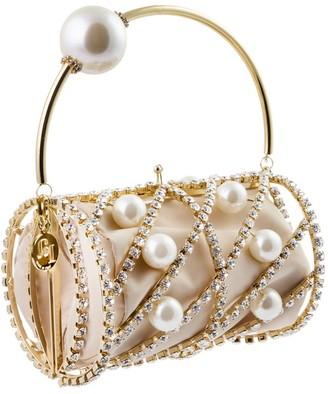 Rosantica Brigitta Embellished Brass Handbag
