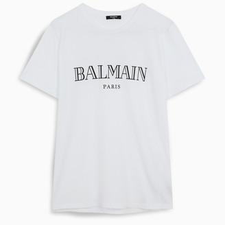 Balmain Black logoed t-shirt