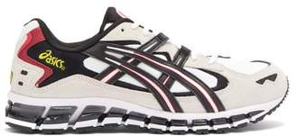 Asics Gel Kayano 5 360 Leather Trainers - Mens - White Black