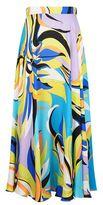 Emilio Pucci Fiore Maya Printed Maxi Skirt