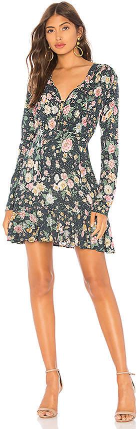 AUGUSTE Spring Rose Wylde Mini Dress