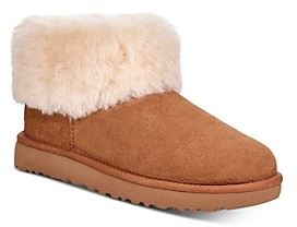 UGG Women's Classic Mini Fluff Booties