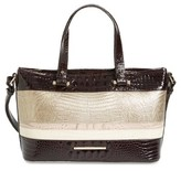 Brahmin Kapoor - Mini Asher Leather Tote - Beige