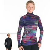 SnowAngel Women's Snow Angel Aurora Reversible Turtleneck Base Layer Top