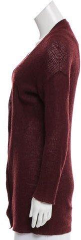 Prada V-Neck Textured Cardigan
