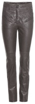 Isabel Marant Brodie leather trousers