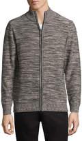 Haggar Mock Neck Long Sleeve Layered Sweaters