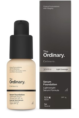 The Ordinary Colours Serum Foundation With Spf 15 30Ml 1.2N Light