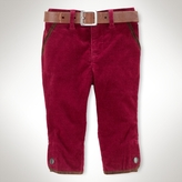 Buttoned Corduroy Pant