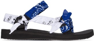 Arizona Love bandana-print sandals