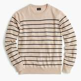 J.Crew Italian cashmere crewneck sweater in stripe