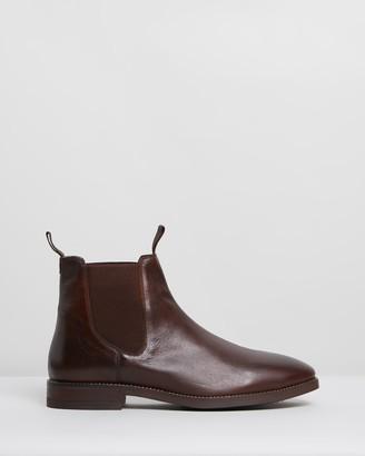 Double Oak Mills Carson Leather Gusset Boots