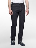 Calvin Klein Straight Leg Streak Rinse Jeans